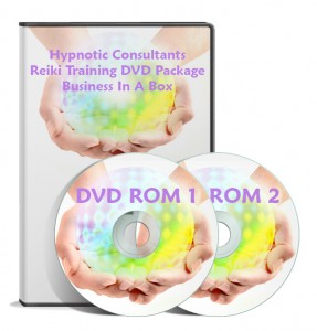 Reiki Training, DVD Rom Course, Leaflets & Website Design